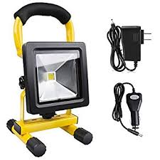 Rechargeable Work Lights le 10w rechargeable portable led work light 60w halogen bulb
