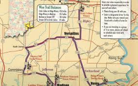 Ohio Winery Map by Warm Up With Souper Saturday On The Indiana Wine Trail