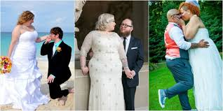 blogger makes gallery of plus size brides in wedding dresses