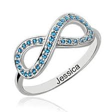 mothers infinity ring personalized s rings