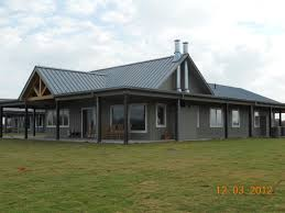 Barn Style House Plans With Wrap Around Porch by Morton Buildings Use Clear Span Construction To Offer Open Floor