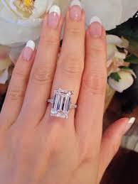 3 carat engagement rings free rings 3 carat emerald cut ring 3 carat