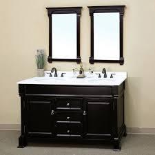 Espresso Vanity Bathroom Bellaterra Calabria 60 In Espresso Double Bathroom Vanity With