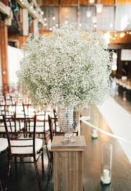 baby s breath centerpiece baby breath wedding decor