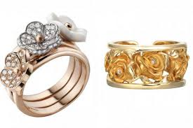 flower rings jewelry images Magnificent flower jewelry pick your favorite ring or brooch jpg