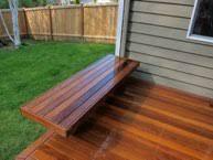 Ipe Bench Decks