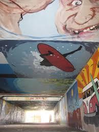 the gilgo beach underpass mural advertisements