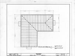 roof framing plan asa thomas house milton north carolina home