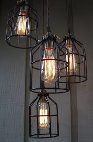 Hanging Edison Bulb Chandelier Edison Bulbs 4 Pack Dimmable 60w Incandescent Exposed Filament
