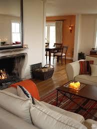 Best PeachOrange Interiors Images On Pinterest Bedrooms - Burnt orange dining room