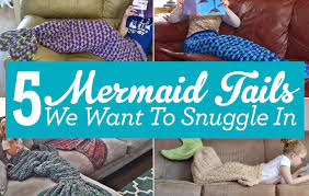 5 mermaid tails we want to snuggle in top crochet pattern blog