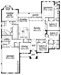single story house plans with jack and jill bathroom