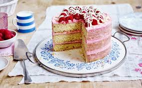 white chocolate u0026 raspberry layered cake recipe bake stork
