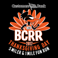 bank bcrr thanksgiving day 5 miler one mile run