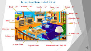 in the livingroom learn arabic in the living room