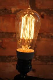 Ampoule Deco Filament Lot De 2 Ampoules Filament De Carbonne Facon Thomas Edison Neuve