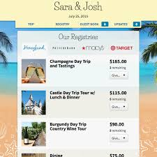 michael c fina bridal registry news and press about honeyfund the free honeymoon registry the