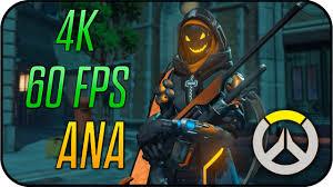 how to make halloween mercy desktop background overwatch ana ghoul animated desktop wallpaper 4k 60fps youtube