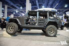 jeep commando 2016 2016 sema konig jeep jk wrangler