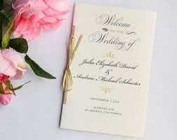 Sample Of Wedding Programs Ceremony Welcome Wedding Programs Wedding Program Booklet Wedding Day
