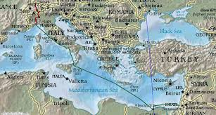 Italy On A Map by Grimaldi Italy Hotelroomsearch Net