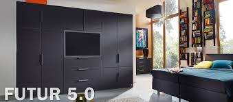 schlafzimmer schranksysteme futur 5 0 modernes schranksystem mit tv funktionselement