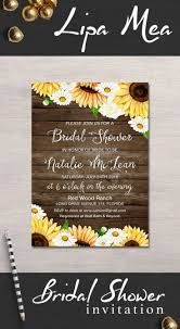 country themed baby shower invitations 25 best sunflower bridal showers ideas on pinterest bridal
