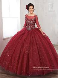 burgundy quince dresses sleeved quinceanera dress by s bridal beloving 4810