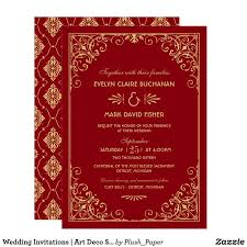 2984 best wedding invitations images on pinterest art deco
