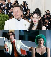 Grimes Meme - musk and grimes appearance at the met gala inspired tons of funniest