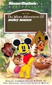 adventures mickey mouse dinosaurkingrockz style