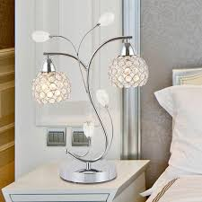 Side Tables For Bedroom by Table For Bedroom Fringe Lamp Shades Collection Also Crystal Lamps