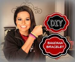 bandana wristband diy bandana bracelet danielle