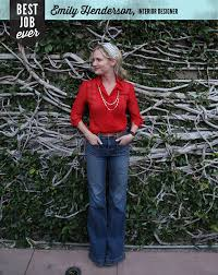 best job ever emily henderson interior designer emily henderson never imagined she would become an interior designer let alone one with her own home garden tv show after winning the reality tv