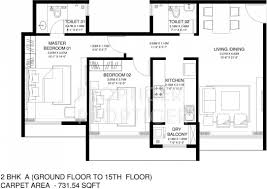 The O2 Floor Plan by Godrej Central By Godrej Properties In Chembur Mumbai Price