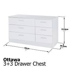 Bedroom Set Used Ottawa Bedroom Furniture 3 Piece Set White Gloss Bedside Drawer Chest