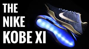 led lights shoes nike nike kobe xi elite light up shoes led sneakers youtube