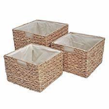 bathroom storage baskets ebay