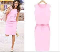 aliexpress com buy new summer fashion women sleeveless knee