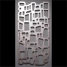 brushed aluminum wall art shenra com