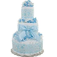 buy darling baby boy 3 tiered nappy cake baby bouquet baby pamper