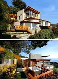 hillside home designs steep hillside house plans collect this idea architecture modern