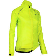 wiggle dhb women s active hi viz waterproof jacket cycling