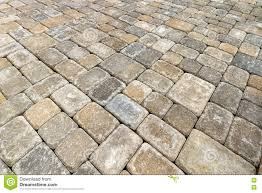 brick paver patio background stock image image 75396733