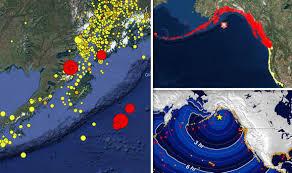 earthquake update alaska earthquake center update latest tsunami warnings live