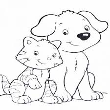 cat coloring pages large images creative crafts kitty color sheet