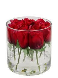 rose in glass lisa rose in glass vase silk sa florist