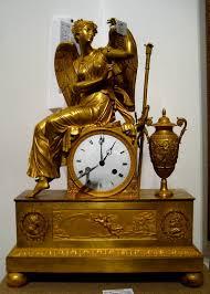 Mantel Clocks Antique Antique French Gold Plated Bronze U0026 Marble Louis Xvi Mantel Clock