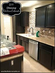 best finish for kitchen cabinets how to finish kitchen cabinets stain frequent flyer miles