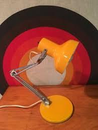 Drafting Table Light Fixtures Vintage Modern Luxo Orange Lamp Gorgeous Industrial Mid Century